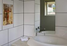 photo of Erice medieval cross printed on bathroom tiles