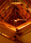 Amazing light effect on the Roof beams and ceiling at The Church at FOX