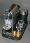 Nespresso machine in the kitchen